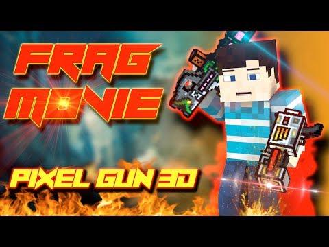 EPIC FRAG MOVIE : Pixel Gun - Prototype + Anti-gravity blaster