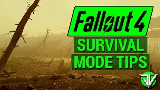 FALLOUT 4: Top 5 Survival Tips For SURVIVAL MODE Release! (Staying Alive in Survival Overhaul)