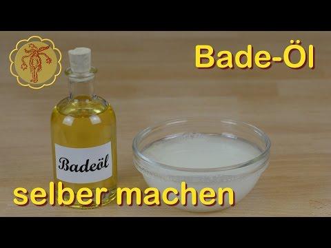 Badeöl selber machen - schnell und einfach