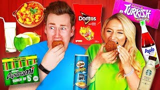Today, I made Saffron Barker eat loads of foods that she hates, sorry Saffron…! ► Check out our other video! - https://youtu.be/92rFH8hpXRk ► Grab Some Merch - https://oliwhiteshop.com/ ► Subscribe - http://bit.ly/OliWhiteTV  ► FOLLOW ME ◀︎ Instagram: @OliWhite Twitter: @OliWhiteTV Facebook: fb.com/OliWhiteTV Snapchat: OliWhite1  ► FOLLOW JAMES ◀︎ Twitter: @JamesWhite_TV Instagram: @JamesWhite_TV