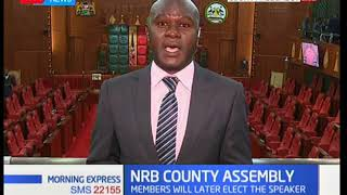 Members of County Assembly to elect the speaker