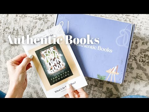 Authentic Books Unboxing July 2021