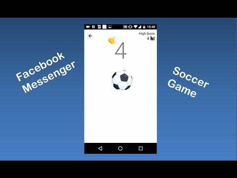 Facebook Messenger 臉書隱藏遊戲 踢足球不落地