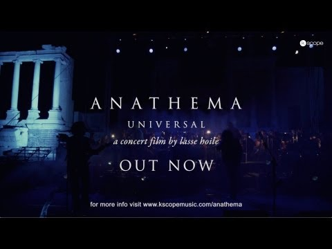 Anathema - Universal (from the Universal Concert Film) online metal music video by ANATHEMA
