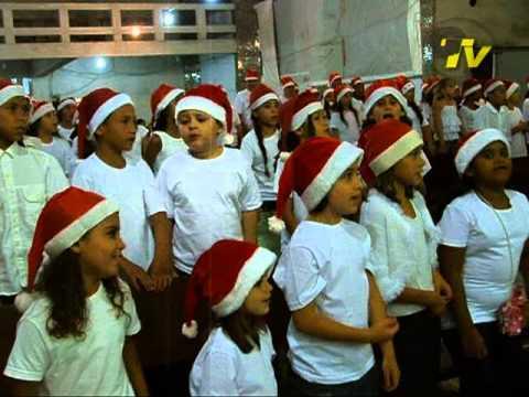 Ensaio de Natal em Guaratuba ano de 2007