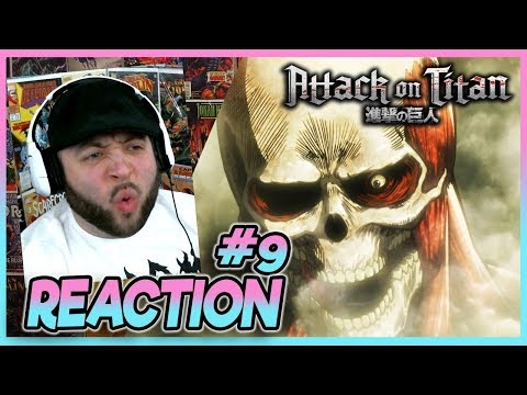 ATTACK ON TITAN Episode 9 REACTION