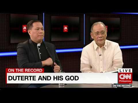 President Duterte: Who is this stupid God?