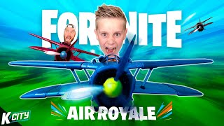 FORTNITE: Planes Only (#1 Victory Air Royale!!!) K-CITY GAMING