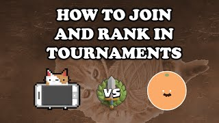 [OUTDATED] Clash Royale | How to Join and Rank in Tournaments | Phonecats vs yarn