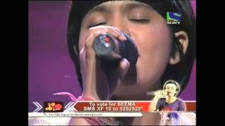 X Factor India - Seema's delicate singing on Tere Bina Jiya Jaye Na- X Factor India - Episode 19 - 16th Jul 2011