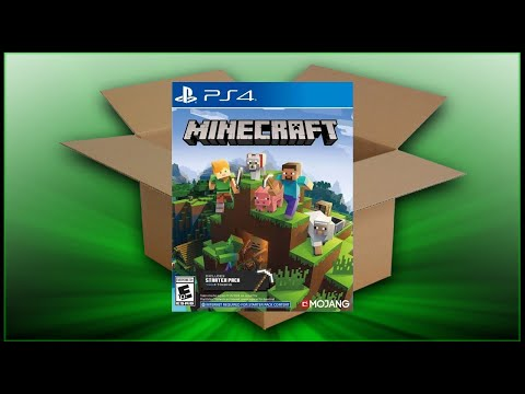Minecraft Starter Collection [PS4] (Unboxing/Breakdown/Demo)
