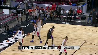 Marcus Williams (4 points) Highlights vs. Delaware 87ers