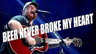 Luke Combs' 'Beer Never Broke My Heart' Lyrics Are Personal
