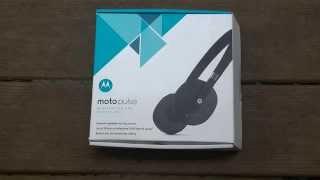 Moto Pulse Wireless On-Ear Headphones Review!