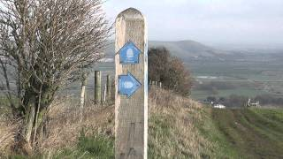 preview picture of video 'SWC Free Walk 134, Lewes to Brighton. 29/1/12.'