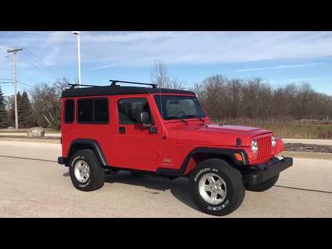 2005 Jeep® Wrangler Unlimited in Big Bend, Wisconsin - Video 1
