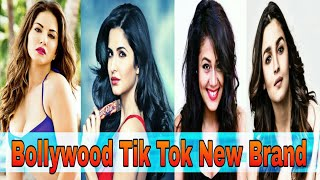 Bollywood Actress Tik Tok most popular compilation video| Sunny Leone salman khan neha kakar