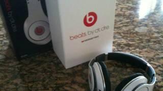 Beats by Dr Dre Studio White Headphones UNBOXING