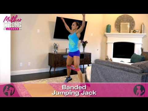 Banded Jumping Jacks