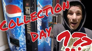 Collection Day for my Vending Machine Business- 2 locations