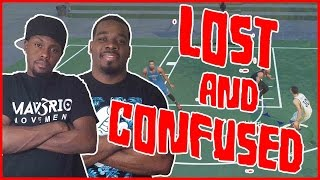 LOST AND CONFUSED!! - NBA 2K16 Head to Head Blacktop Gameplay