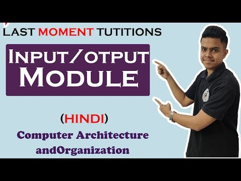 IO Module in Hindi | COA | Computer Organization and Architecture ...