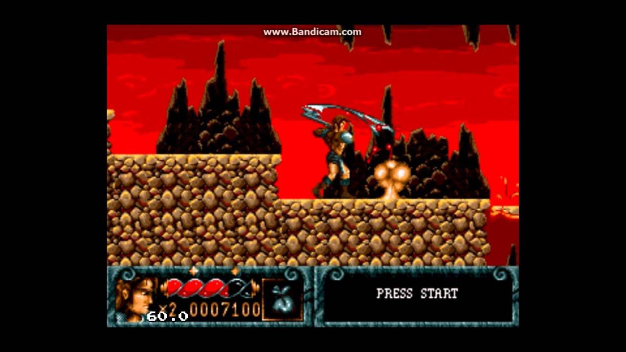 Blades of Vengeance (Sega Mega Drive / Sega Genesis) – Ravenking's Gameplay