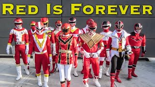 Red Is Forever [FOREVER SERIES] Power Rangers