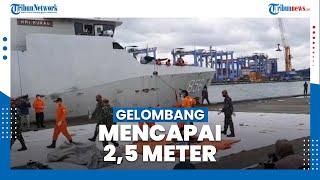 Gelombang Capai 2,5 Meter, Pencarian Jatuhnya Pesawat Sriwijaya Air SJ-182 Dihentikan Sementara