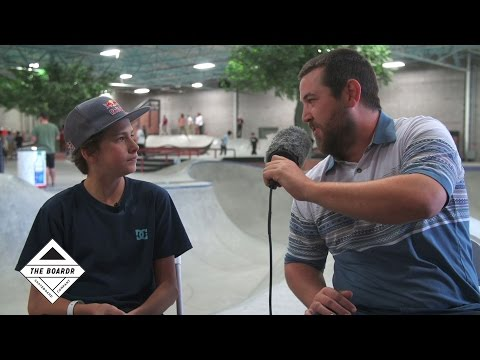 Jagger Eaton Interview After Winning The Boardr Am at Phoenix