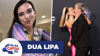 Dua Lipa Reveals Boyfriend Anwar Hadid's Birthday Gift | Interview | Capital