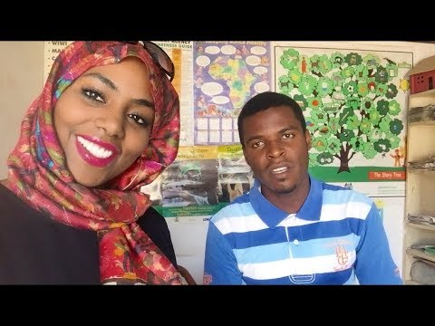 Nigeria Vlog: Volunteer Teaching TEACHER CRUSH!!! & FUNNY student role play | Day 3