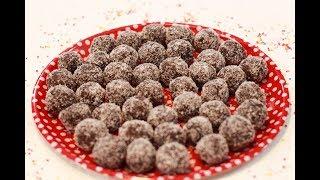 מתכון לכדורי שוקולד טעימים