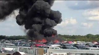 مقتل 3 من عائلة بن لادن بتحطم طائرتهم في بريطانيا
