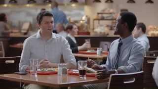 "Friends Don't Small Talk ""Cafeteria"" NFL.com Fantasy Football Commercial"