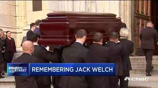 Memorial service for Jack Welch held at St. Patrick's Cathedral