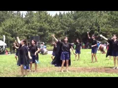 江戸川よさこい'15 南中コンテスト - 二之江中学校民舞和太鼓部