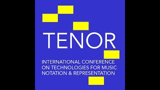 Tenor2021- Keynote: Thor Magnusson - The Symbol and the Signal