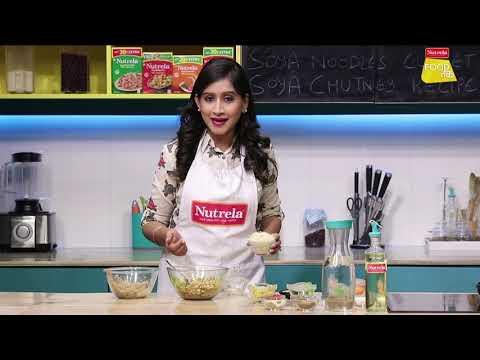 Nutrela Soya Noodles Cutlet