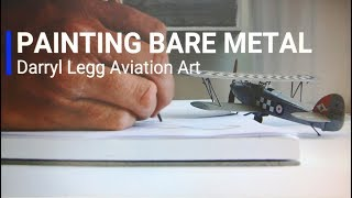 Aviation Art - Painting Bare Metal