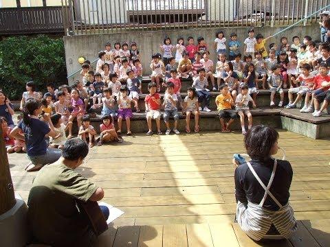 130909京都市・夢窓幼稚園「夏の日のひとコマ」