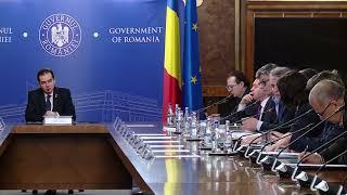 12/20/19: Declarații susținute de premierul Ludovic Orban la începutul ședinței de guvern