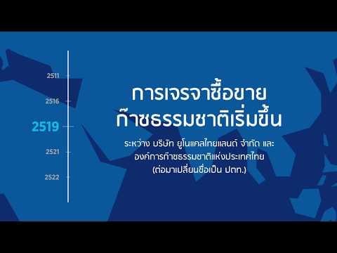 36 ปี เอราวัณ จุดเริ่มต้นพลังงานไทย