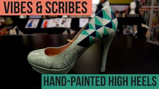 Hand Painted High Heels Tutorial