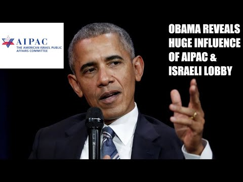 Barack Obama REVEALS AIPAC & Pro-Israeli Lobby Is Very Powerful, Says Dems FEAR AIPAC In New Book!
