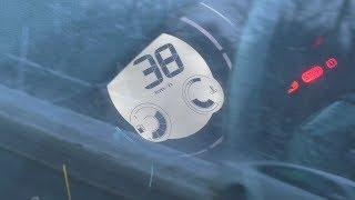 Автомобиль бросили на скорости 38 км/ч