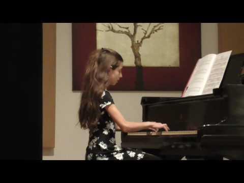 Helen Butkov student Sydney Marllow. Roayl Conservatory level 2.