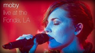 Gambar cover Moby - Southside feat. Skylar Grey (Live at The Fonda, L.A.)