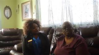Client speaks on Trusted Advisor Sharon's Assistance