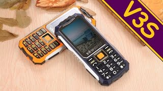 Мобильный телефон VKWorld Stone V3s Green от компании Cthp - видео 1